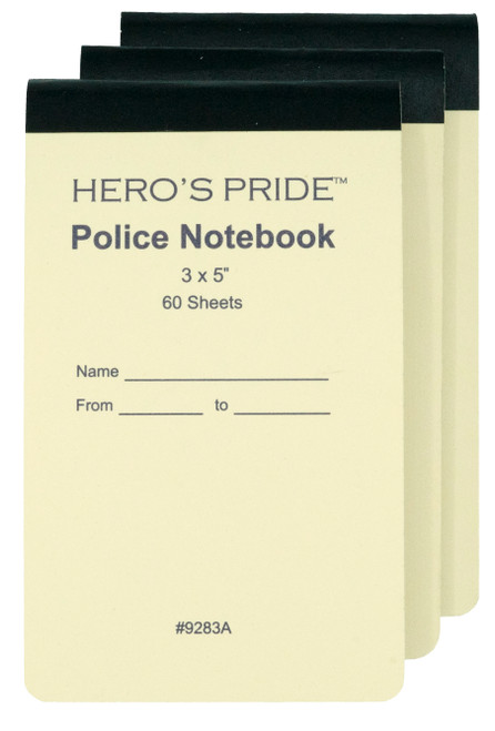 """Notepad, Deluxe, 3-Packs, 3x5"""""""