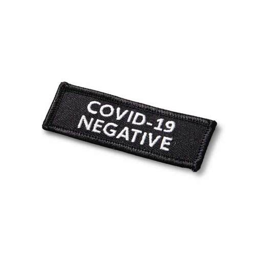 "COVID-19 NEGATIVE, Hook - 3 X 1"""