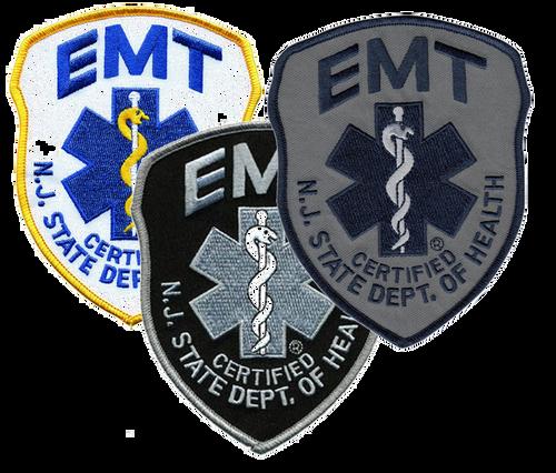 NJ STATE DOH EMT Shoulder Patch