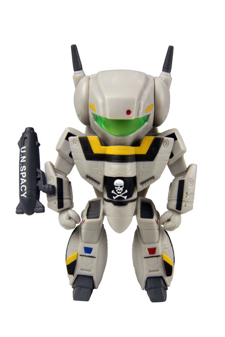 Comic Con 2014 Exclusive: Robotech Chibi Skull Leader VF-1S in Military Gray
