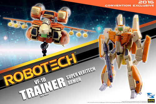 Comic Con 2016 Exclusive: Robotech VF-1D (VT-102)
