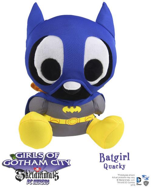 Skelanimals / DC Heroes Batgirl Plush