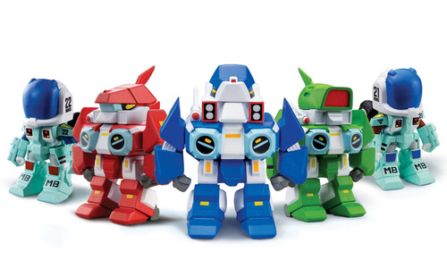 Robotech New Generation Super Deformed Blind Box Figurines