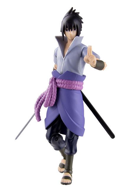 Naruto Shippuden Poseable Action Figure - Sasuke