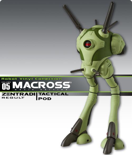 Macross Zentradi (Regault) Tactical Battlepod Vinyl Figure