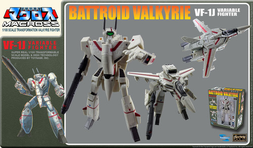 Macross Saga: Retro Transformable  1/100 VF-1J Ichijo Valkyrie