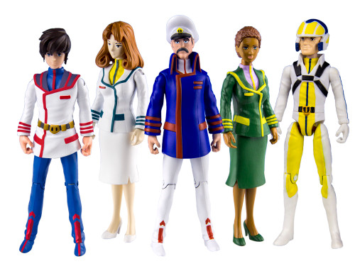 Robotech Poseable Action Figures Series 2 (Set of 5)