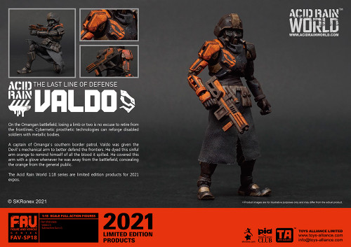 Acid Rain Valdo - 2021 CONVENTION EXCLUSIVE