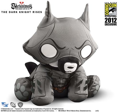 SDCC 2012 Exclusive: DC Comics x Skelanimals The Dark Knight Rises Batman Jae Plush