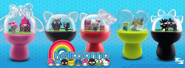 """Hello Sanrio 4"""" Capsule Diorama Assortment (5 Pack)"""