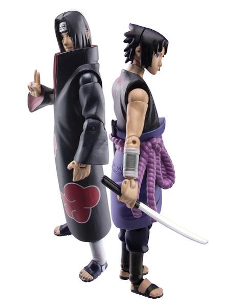 Naruto Shippuden Exclusive Two-Pack Set: Sasuke vs. Itachi