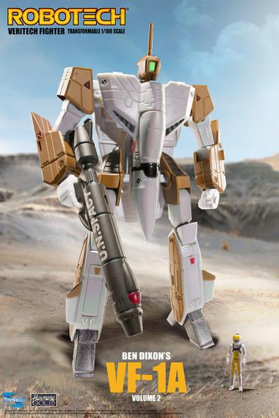 Robotech VF-1 Transformable Veritech Fighter with Micronian Pilot - BEN DIXON VOLUME 2