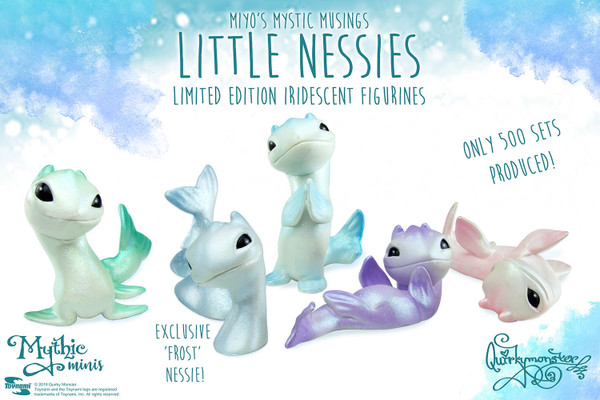 Little Nessies Limited Edition Iridescent Figurines Set-Convention Exclusive!