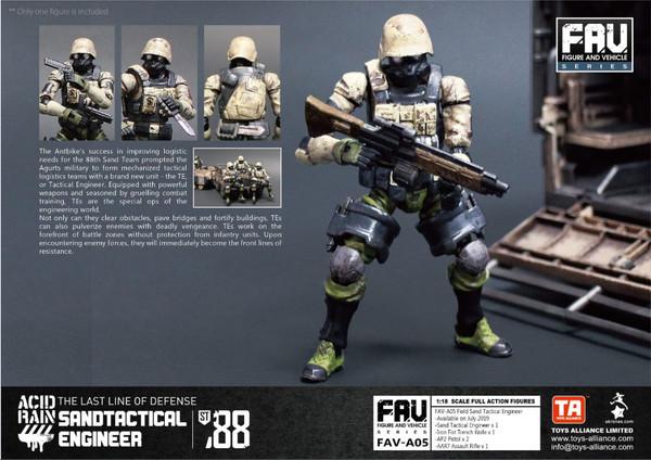 Acid Rain Sand Tactical Engineer