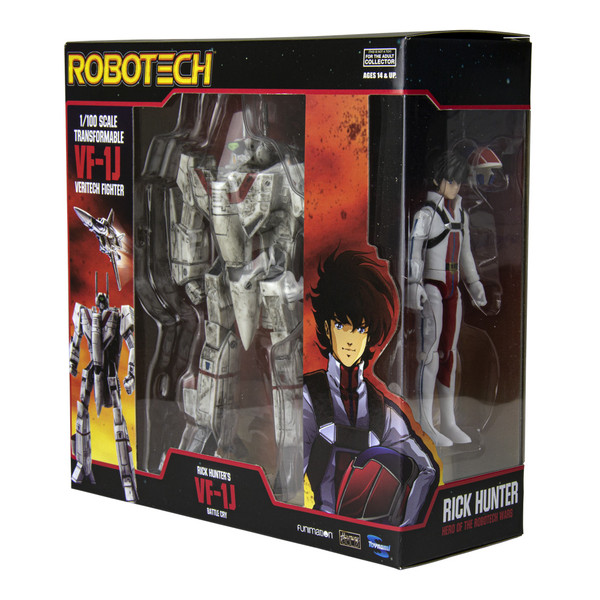 Rick Hunter Transformable 1/100 VF-1J Battle Cry w/ Figure 2021 CONVENTION EXCLUSIVE