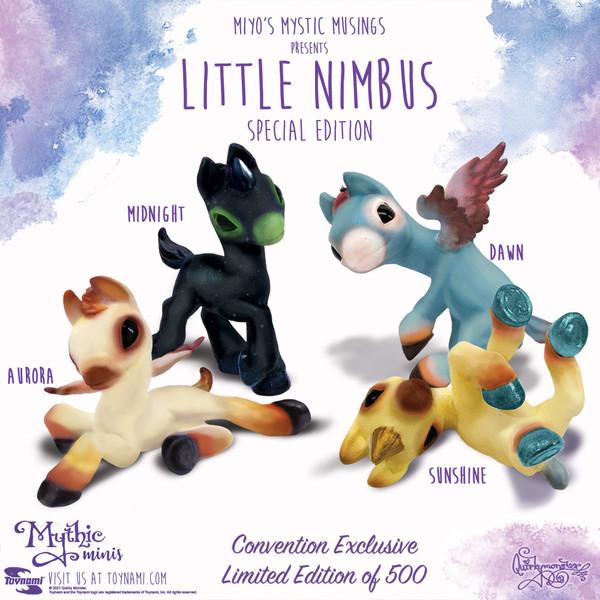 Little Nimbus Special Edition Figurines Set - 2021 CONVENTION EXCLUSIVE