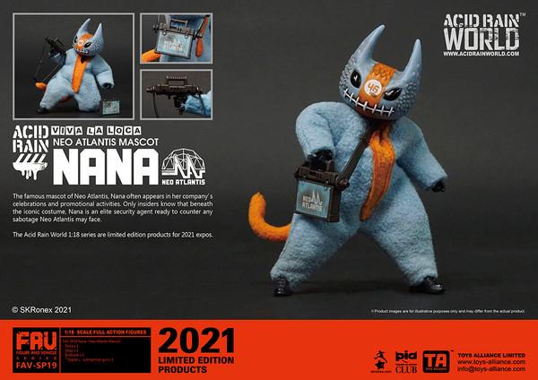 Acid Rain Nana (Neo Atlantis Mascot) - 2021 Convention Exclusive