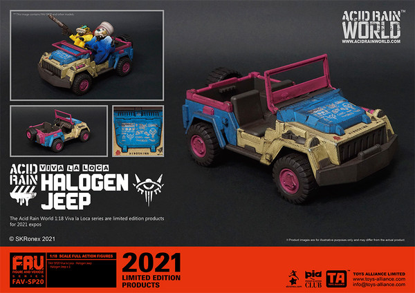 Acid Rain Halogen Jeep - 2021 Convention Exclusive