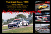 627 - The Great Race 1996 - A collage of the first three place getters from  Bathurst 1996 with winners time and laps completed.