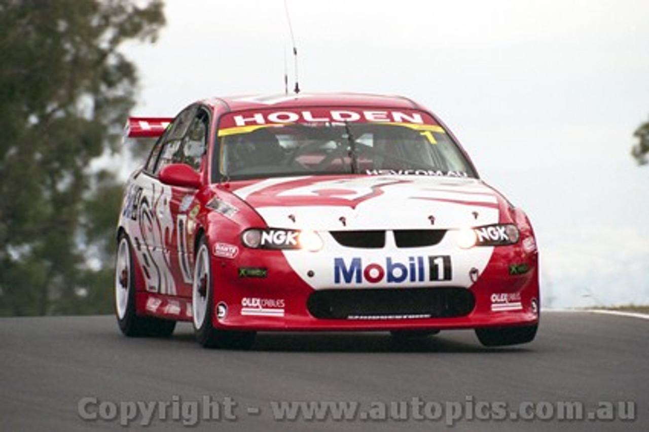 202726 - M. Skaife & J. Richards  Holden Commodore VX - Bathurst 2002 - Photographer Craig Clifford