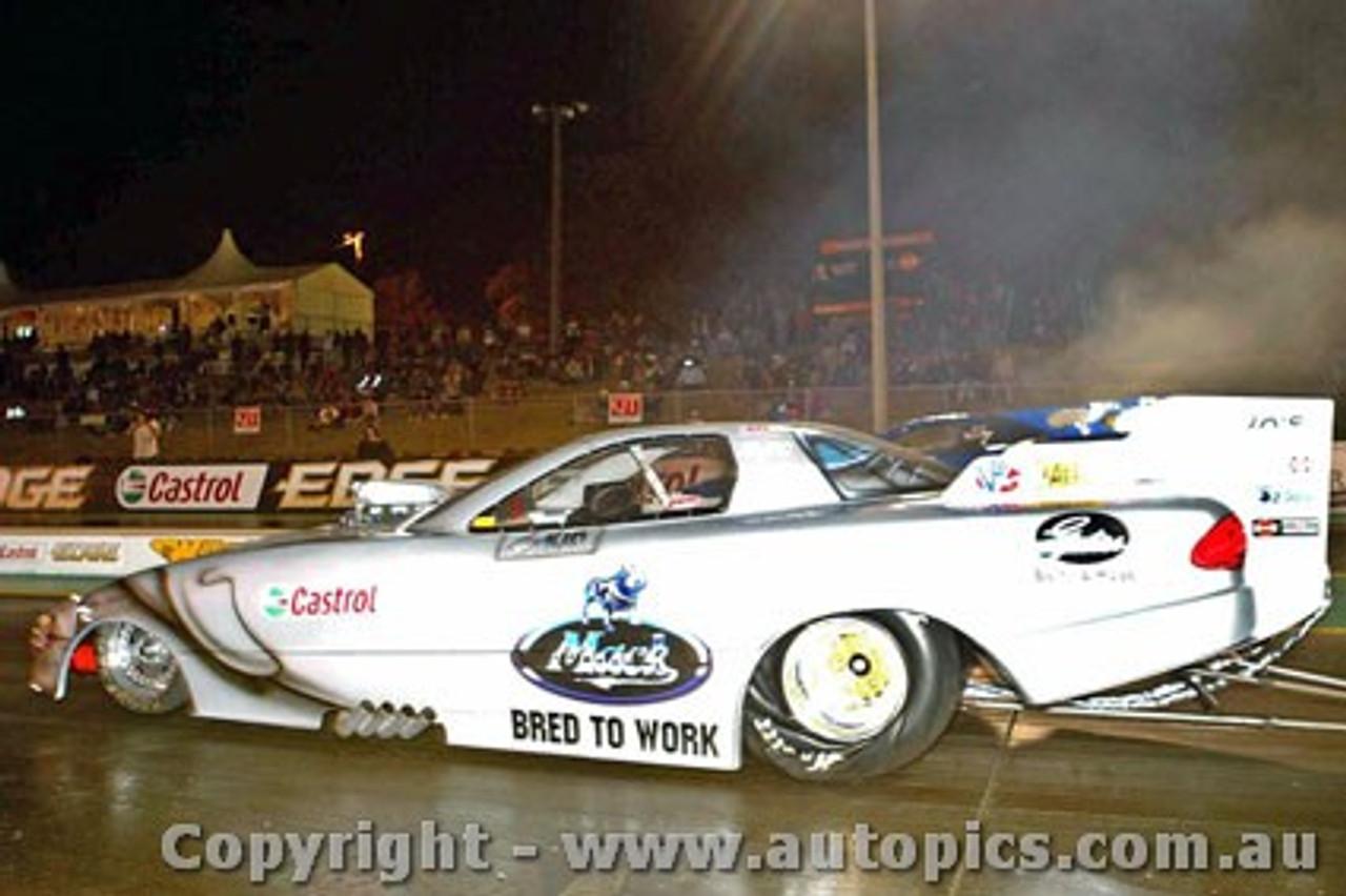 206901 - Ben Bray - Winter Nats Willowbank Raceway 2006 - Photographer Marshall Cass