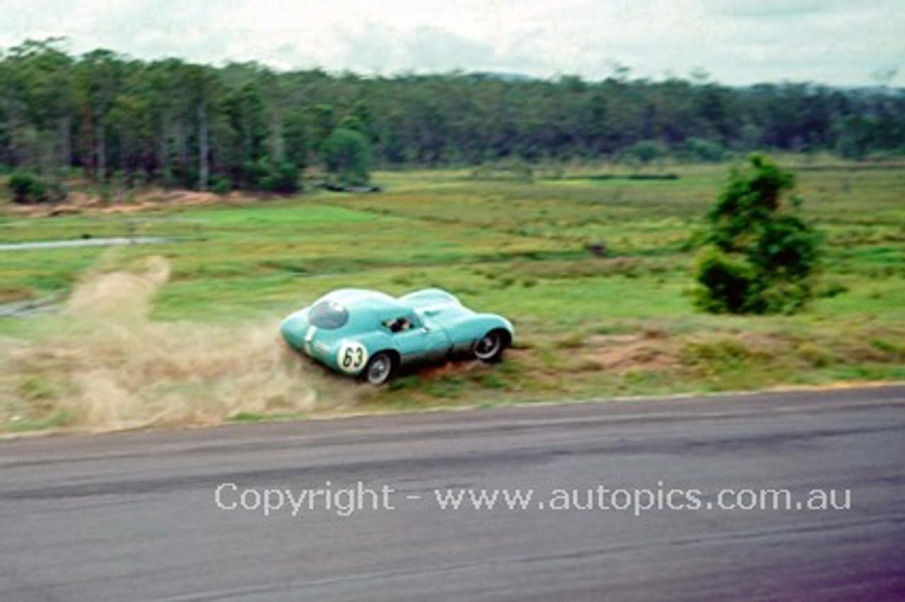 63412 - Barry Karle, Repco Centaur GT - Lakeside 1963 - Photographer John Stanley