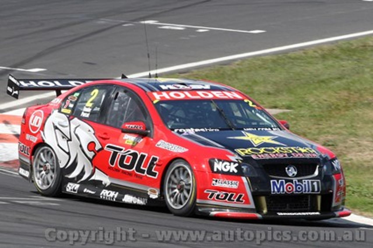 11701 - Garth Tander & Nick Percat - Holden Commodore VE -  Winner of the 2011 Bathurst 1000  - Photographer Craig Clifford