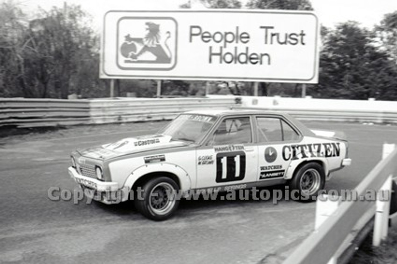 79053 - G. Cooke / W. Brown, Holden Torana A9X - Sandown Hang Ten 400 9th September 1979 - Photographer Darren House