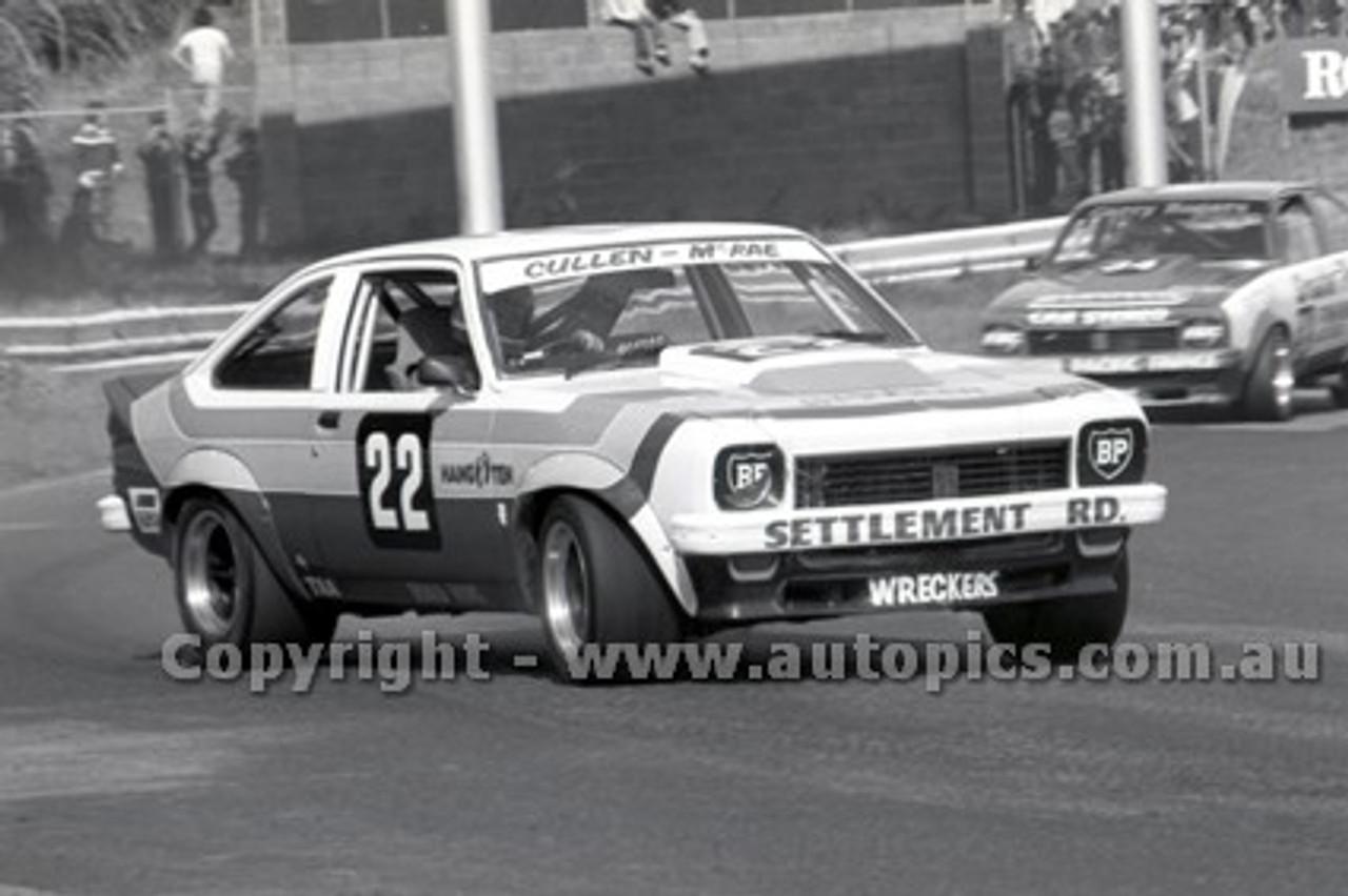 79072 - W. Cullen, Holden Torana A9X - Sandown Hang Ten 400 9th September 1979 - Photographer Darren House