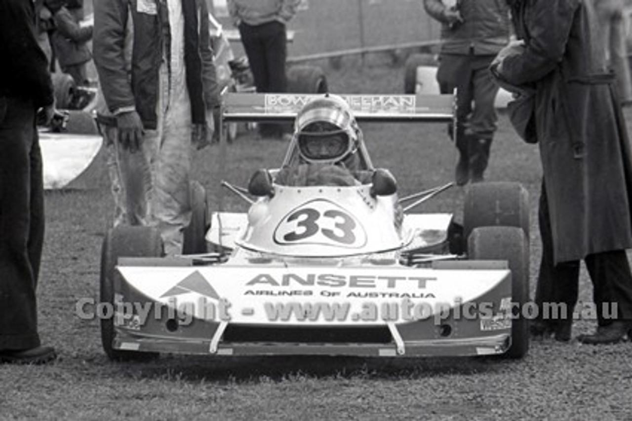 79504 - John Bowe, Elfin F2 - Sandown 1979 - Photographer Darren House