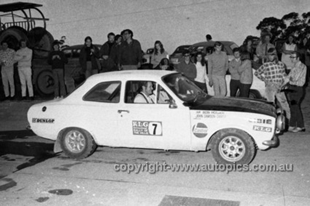 72908 - Bob Holden & John Dawson Damer, Ford Escort - KLG Rally 1972- Photographer Lance J Ruting