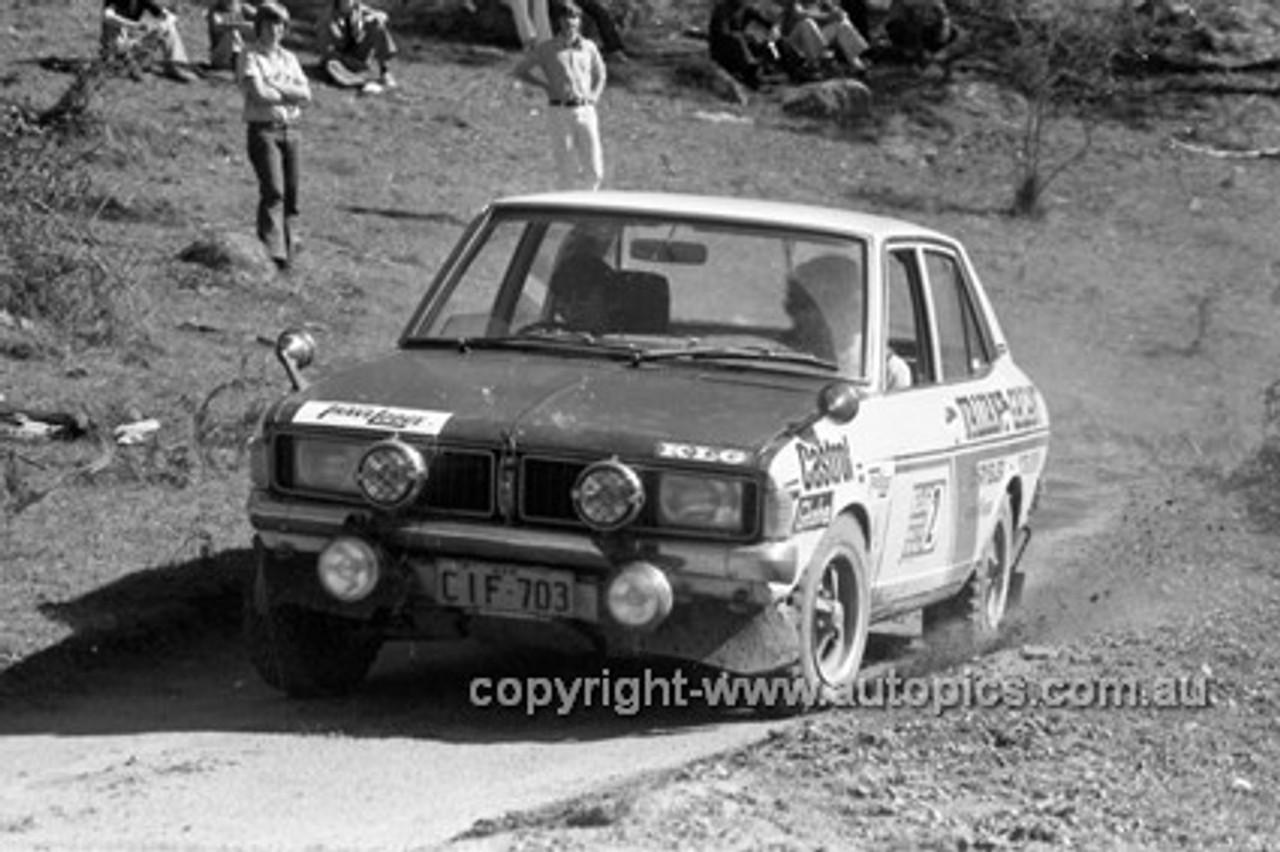 72914 - Galant - KLG Rally 1972- Photographer Lance J Ruting
