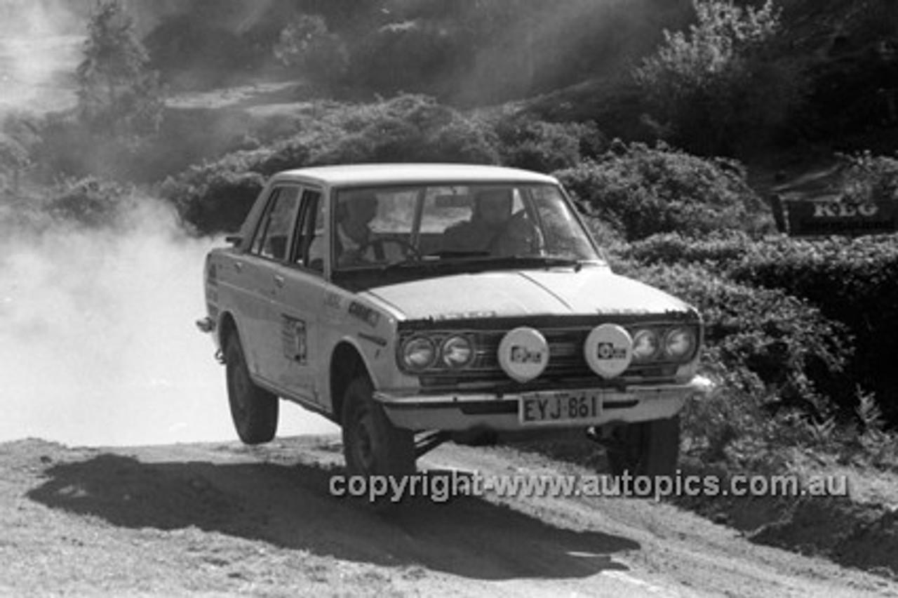 72916 - Datsun 1600 - KLG Rally 1972- Photographer Lance J Ruting