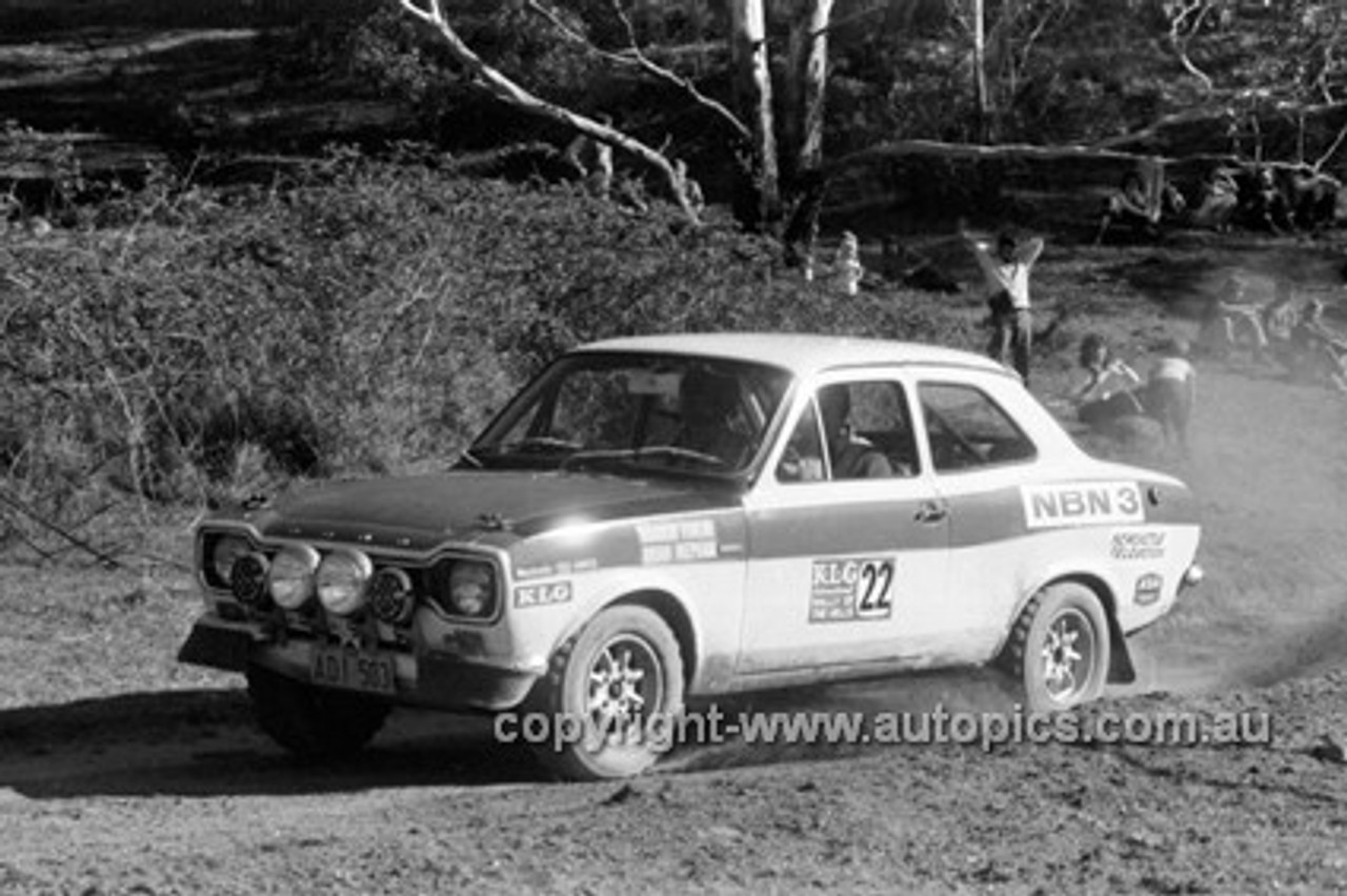 72917 - Murray Finlay, Ford Escort - KLG Rally 1972- Photographer Lance J Ruting