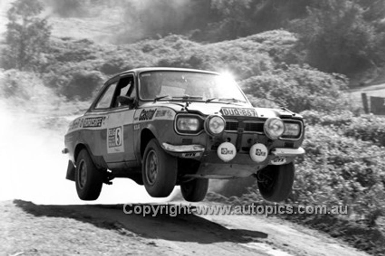 72923 - Evan Green and Roy Denny -  Ford Escort - KLG Rally 1972 - Photographer Lance J Ruting