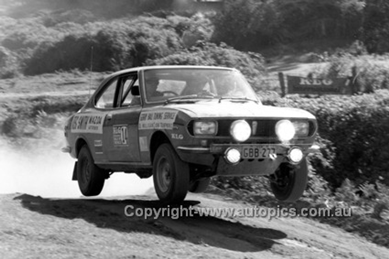 72924 - Ed Mulligan, Mazda - KLG Rally 1972 - Photographer Lance J Ruting