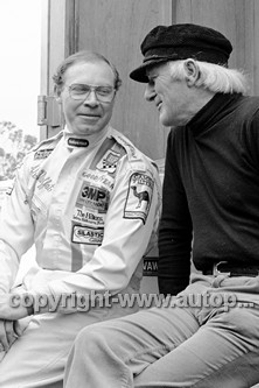 80071  -  Allan Moffat & Harry Firth  -  Sandown  1980 - Photographer Darren House
