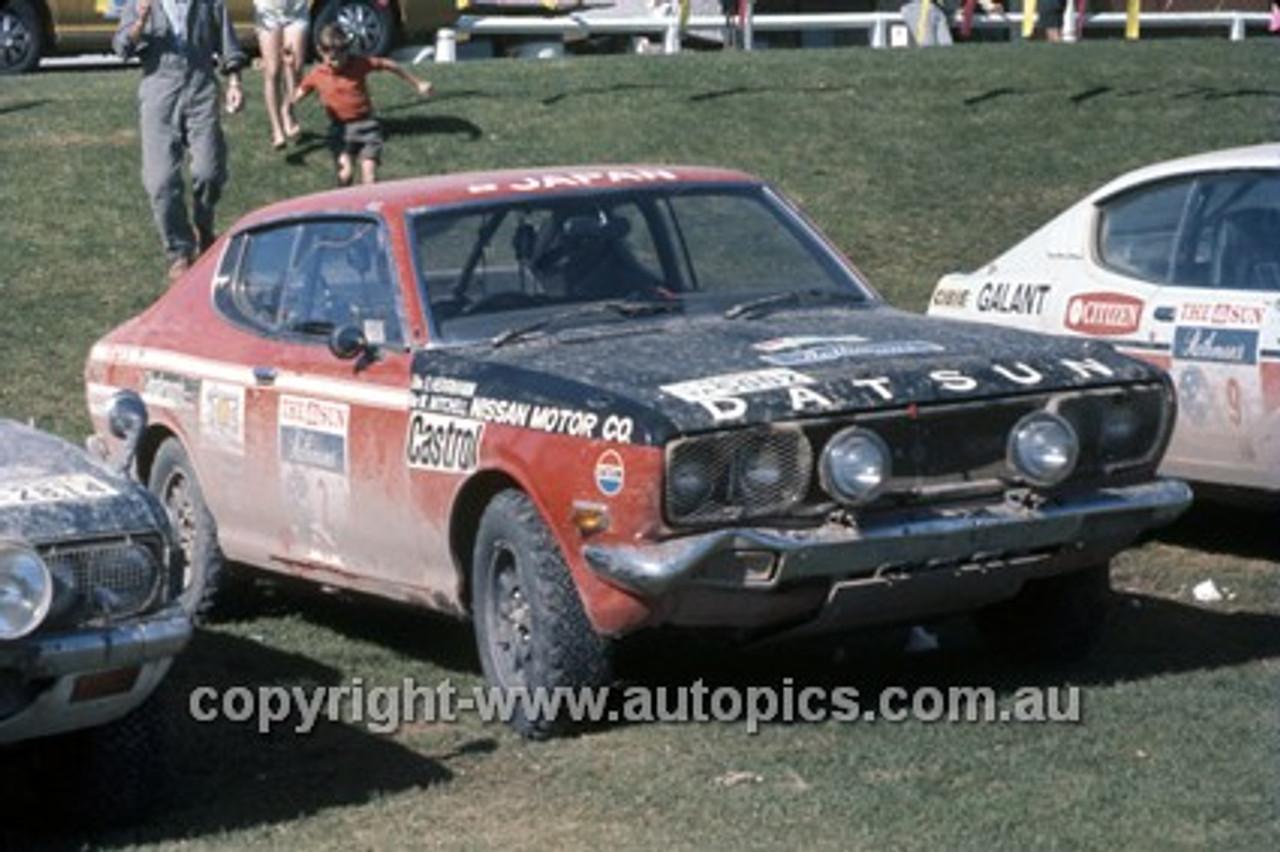 72928 - E. Herrmann & M. Mitchell, Datsun - Southern Cross Rally 1972 - Photographer David Blanch