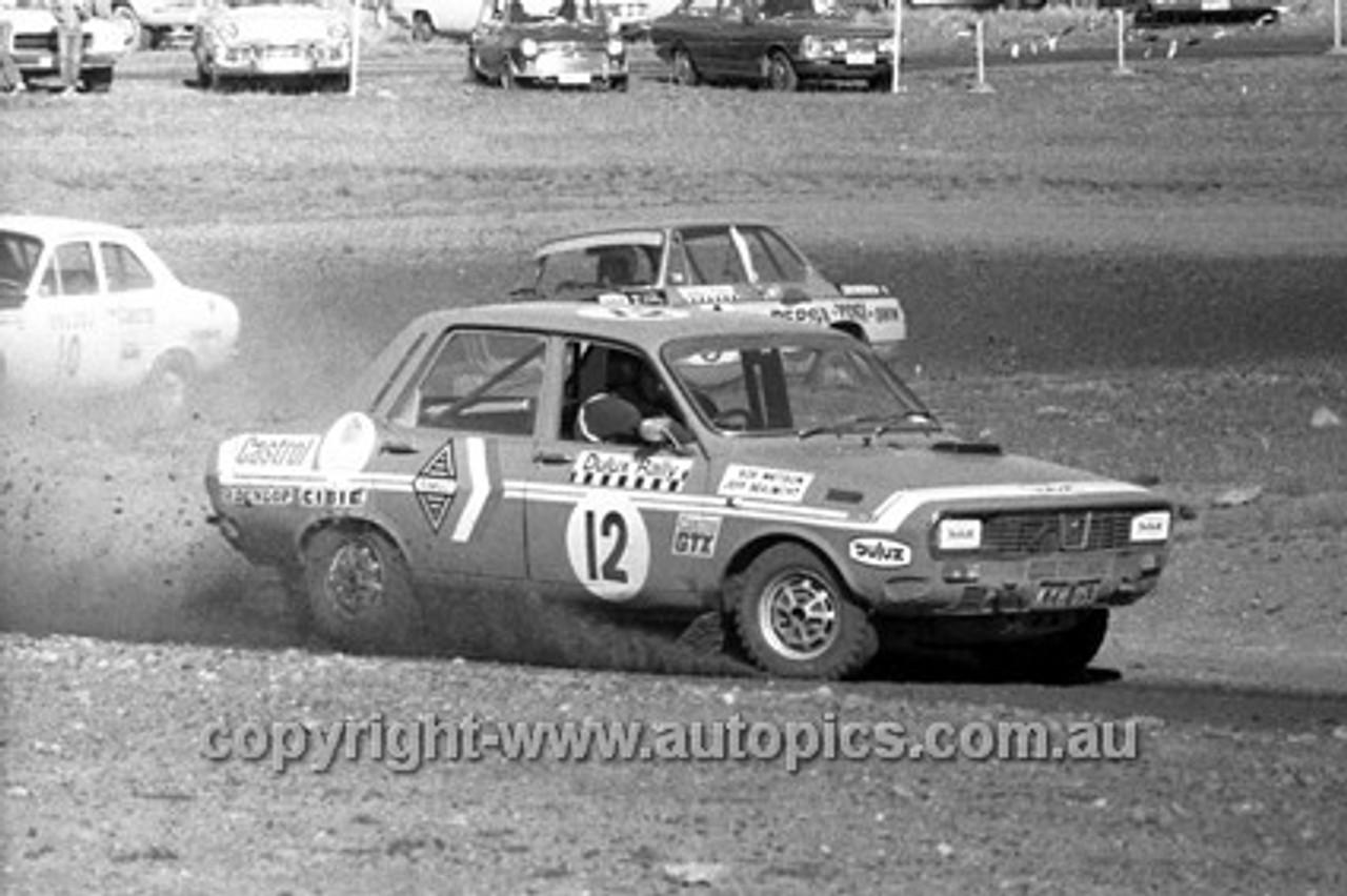 72930 - Bob Watson, Renault R8 Gordini  - 1972 Dulux Rally