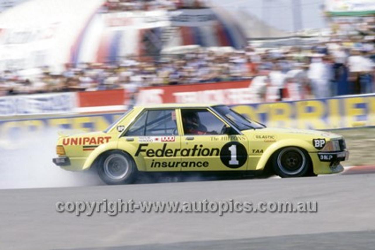 80870 - Allan Moffat & John Fitzpatrick  Ford Falcon XD - Bathurst 1980