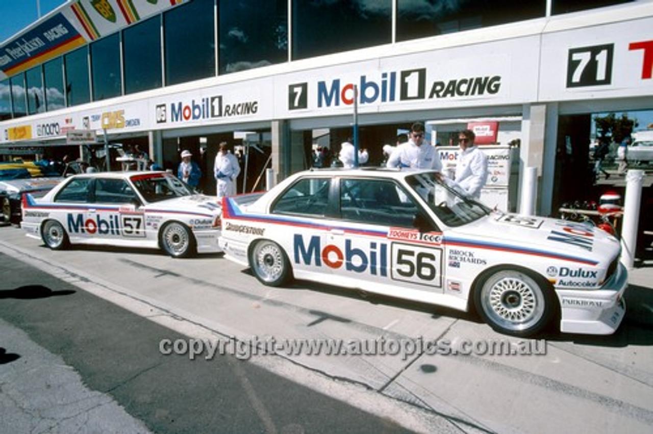 88767 - The Mobil BMW M3 Team - Brock / Crompton & Richards / Parsons - Bathurst 1988