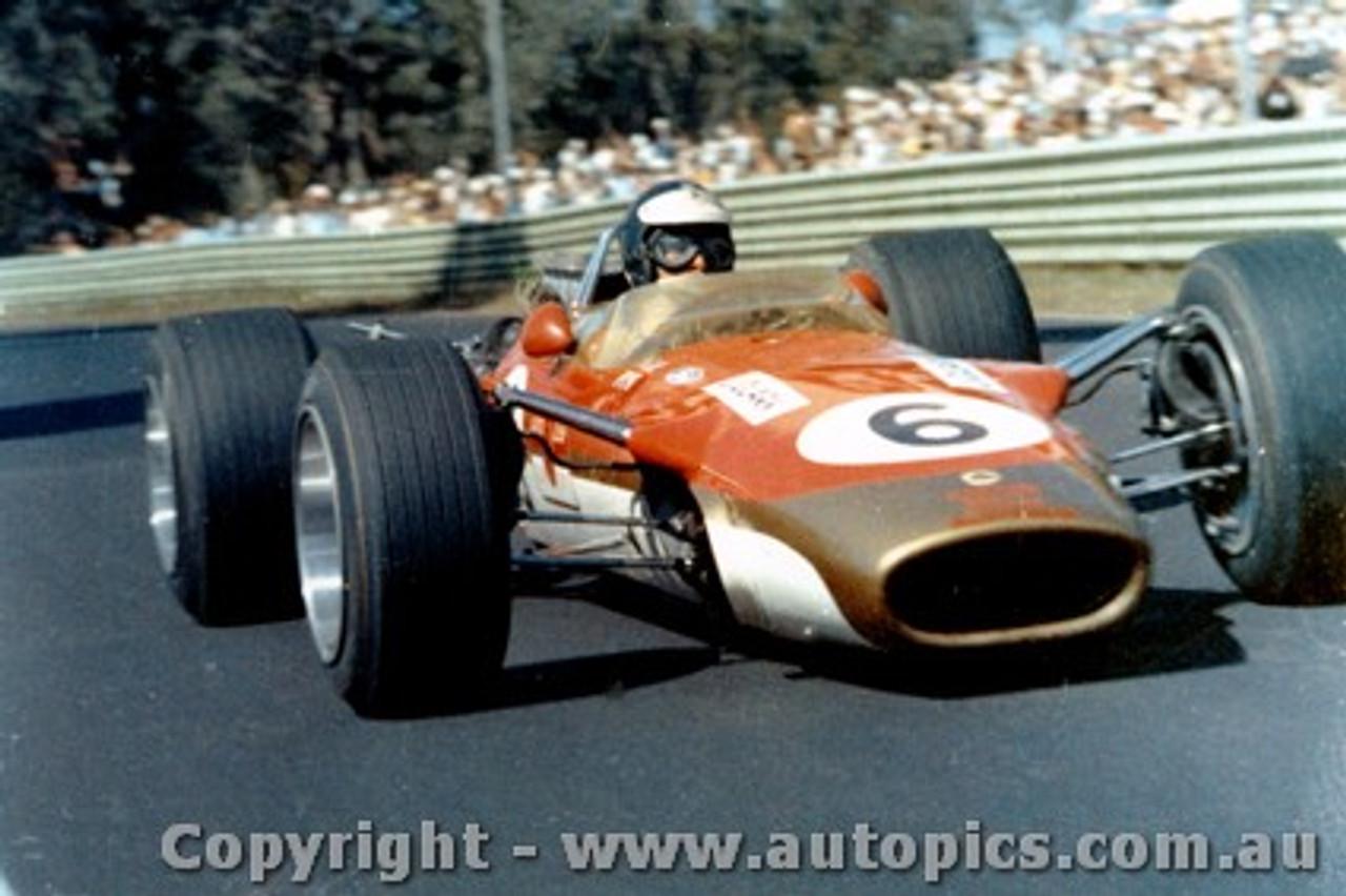 Jim Clark  -  Lotus 49  - 1968 Tasman Series -  Warwick Farm