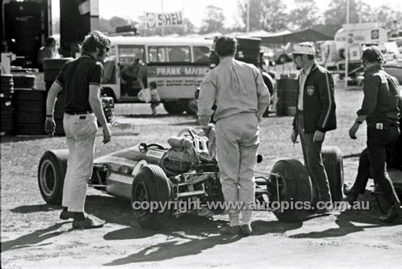 70502 - John Mc Cormack, Elfin 700 Repco V8 - Warwick Farm 6th August 1970