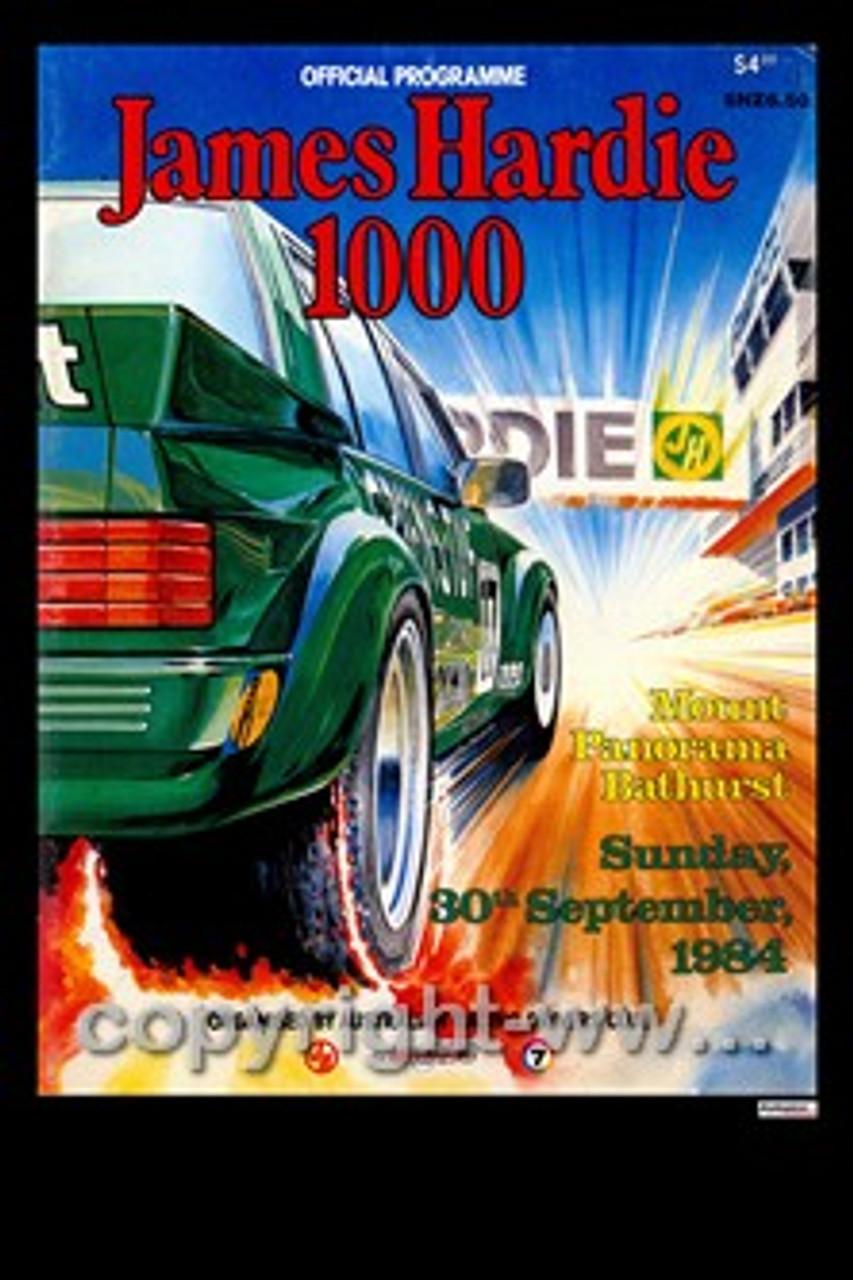 721 - Bathurst Programme 1984