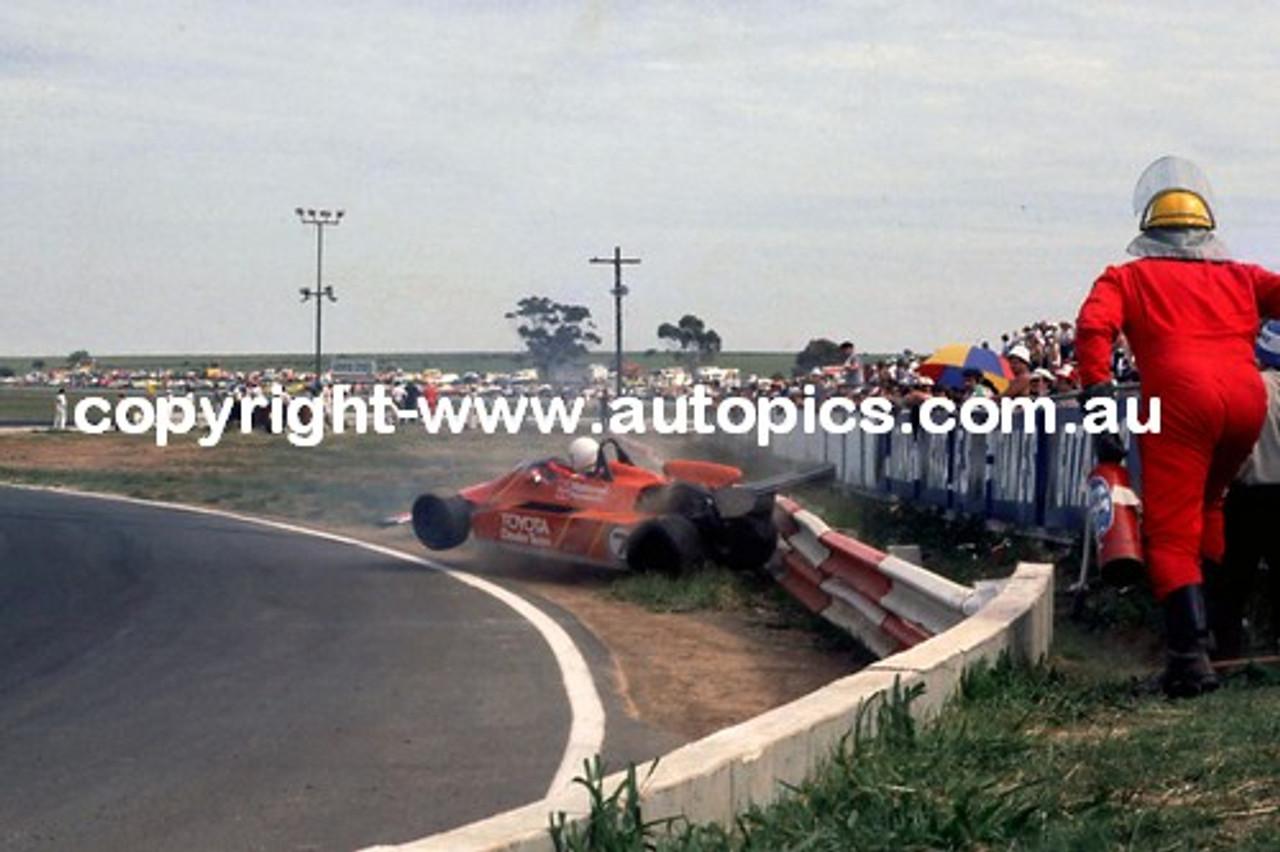 P. Williamson  -  Toleman - Calder Park AGP 1981