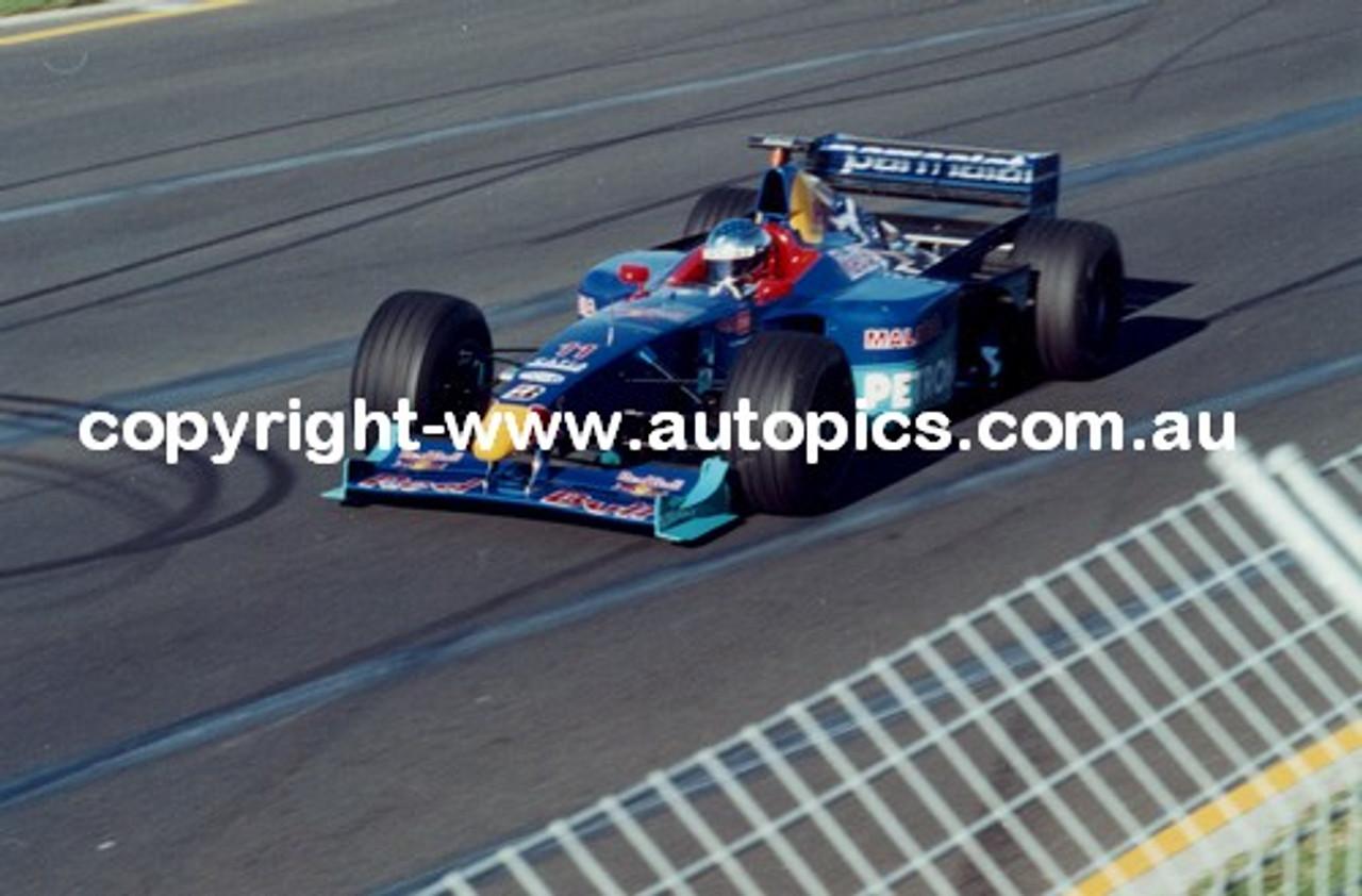 Jean Alesi  -  Sauber - Melbourne AGP 1999