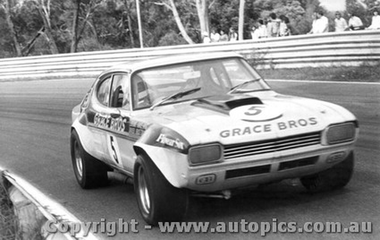 72006  -  Bruce Cary Ford Capri  V8 -  Warwick Farm  1972
