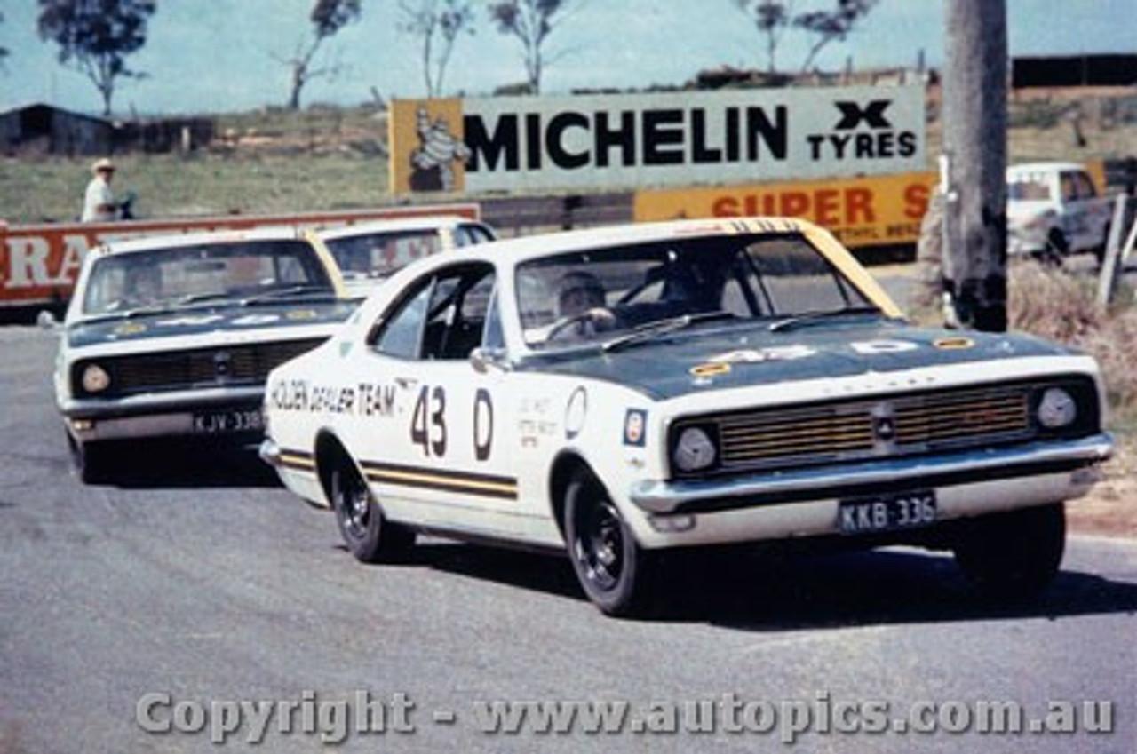 69705  -  D West / P Brock  -  Bathurst 1969 -3rd Outright - Holden Monaro GTS 350