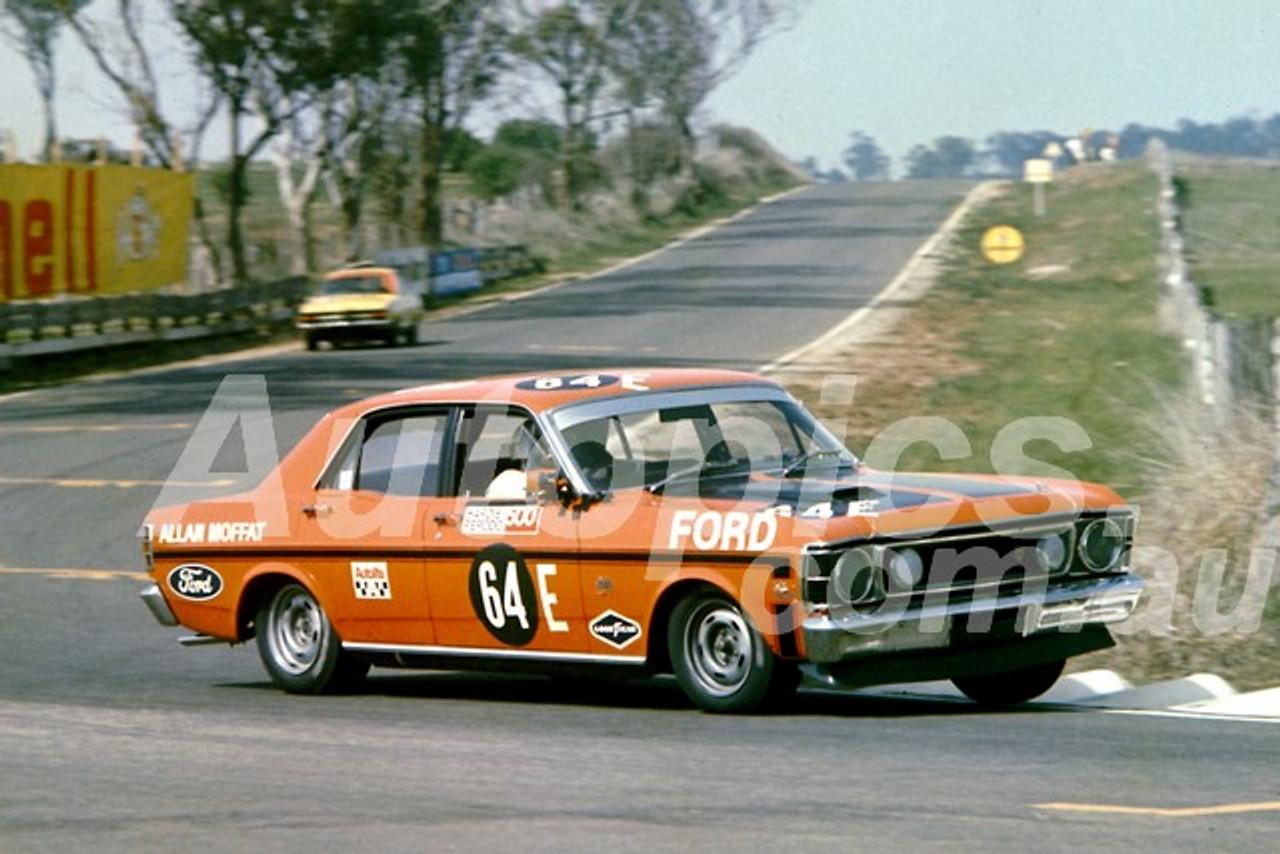 70702 - A  Moffat - Bathurst 1970 -1st Outright & Class E winner - Ford  Falcon GTHO