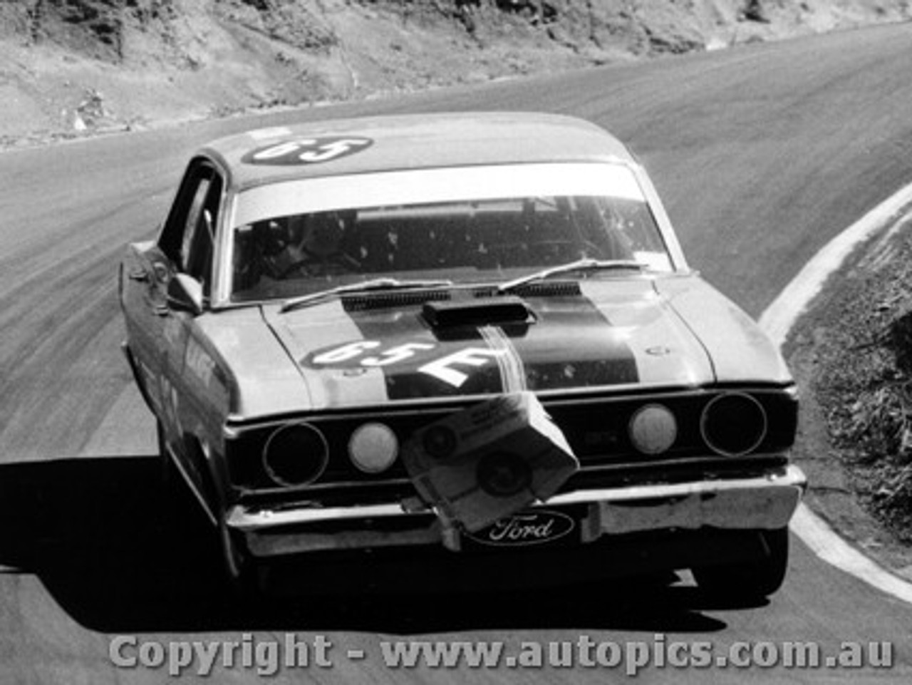 71703  -  Allan Moffat  -  Bathurst 1971 -1st Outright & Class E winner - Ford Falcon GTHO Phase 3